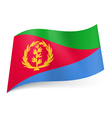 State flag of Eritrea vector image