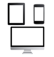 Big Set Of Contemporary Gadgets vector image vector image