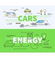 Car of Future Energy Electricity vector image vector image
