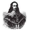 charles i king of england vintage vector image vector image