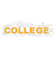 college icons for education graphic design vector image