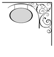 Decorative board vector image vector image