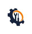 gear repair service vector image