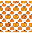 halloween seamless pattern vector image vector image