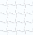 Quilling paper pillow grid vector image vector image