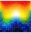 Abstract rainbow circles seamless pattern vector image vector image