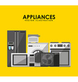 appliance icon vector image vector image