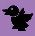duck Flat vector image vector image