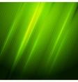 Green shiny hexagon texture background vector image