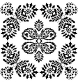ottoman serial patterns five vector image vector image