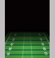 american football field background template vector image vector image
