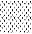 check marks seamless pattern vector image vector image