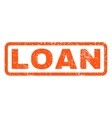 Loan Rubber Stamp vector image vector image