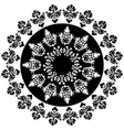 ottoman serial patterns fourteen vector image vector image