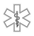 rod of asclepius icon