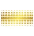 shekel golden halftone pattern vector image vector image