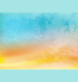 abstract color summer background vector image