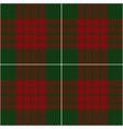 christmas tartan plaid seamless pattern vector image vector image