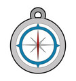 compass icon image vector image