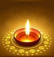 diwali festival diya vector image
