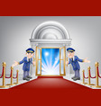 first class treatment vector image vector image