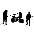 music band vector image