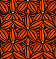 pattern of flowers vector image vector image