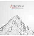 architecture line background building