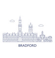 bradford vector image vector image