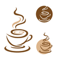 Coffee Icon Logo Template icon design vector image vector image