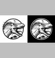 indoraptor x-rex in two versions vector image