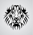Lion Face Tribal vector image vector image