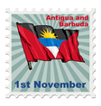 national day of Antigua and Barbuda vector image vector image