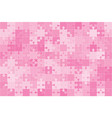 pink 150 puzzles pieces jigsaw vector image vector image