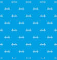 golden gate bridge pattern seamless blue vector image