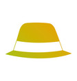 hat accessory fashion object vintage design image vector image vector image