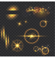 light effects collection vector image