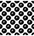 seamless pattern with brush circle and vector image vector image