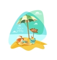 The best summer vector image vector image