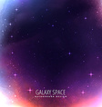 universe space cosmos background vector image vector image