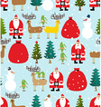 Winter pattern for Christmas and new year Seamless vector image vector image