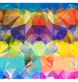 Abstract geometric background space vector image vector image