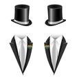 gay couple wedding vector image vector image