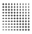 minimal monochrome dynamic halftone background vector image vector image