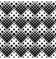 retro geometrical seamless circle pattern vector image vector image