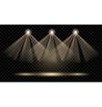 Spotlights Illumination vector image vector image