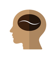 Think of Coffee vector image vector image