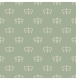 Wallpaper vintage style vector image vector image