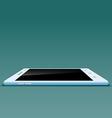 White smartphone Stock vector image