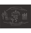 old banners vector image vector image